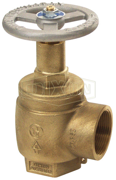 Global Cast Brass Angle Valve Double Female