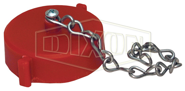 Thermoplastic Cap with Chain