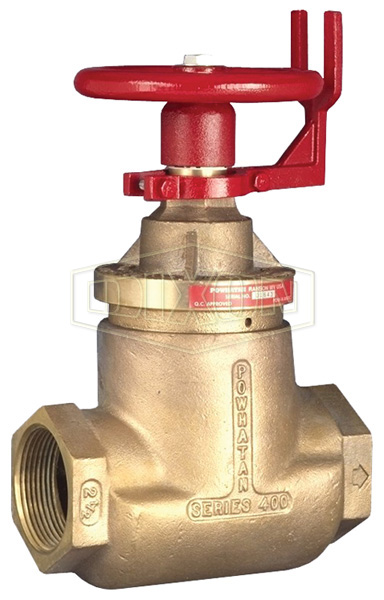 Factory Set Pressure Reducing Brass Standard Globe Valve Female x Female