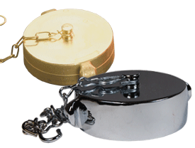 Brass Rocker Lug Cap