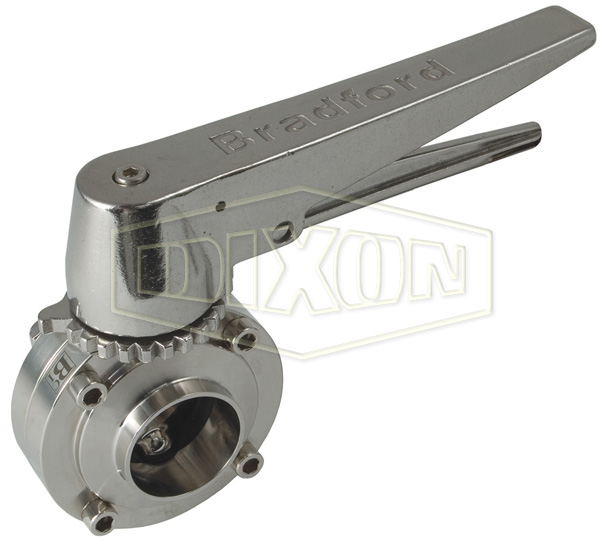 B5101 Series Butterfly Valve with Trigger Handle (Metric)