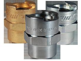 Dix-Lock™ N-Series Bowes Interchange Female Thread Coupler