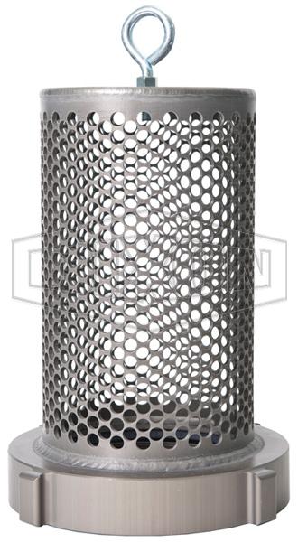 Aluminum Female Barrel Strainer