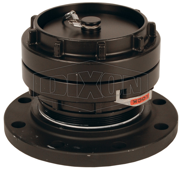 150# Carbon Steel Flange x Storz with Cap