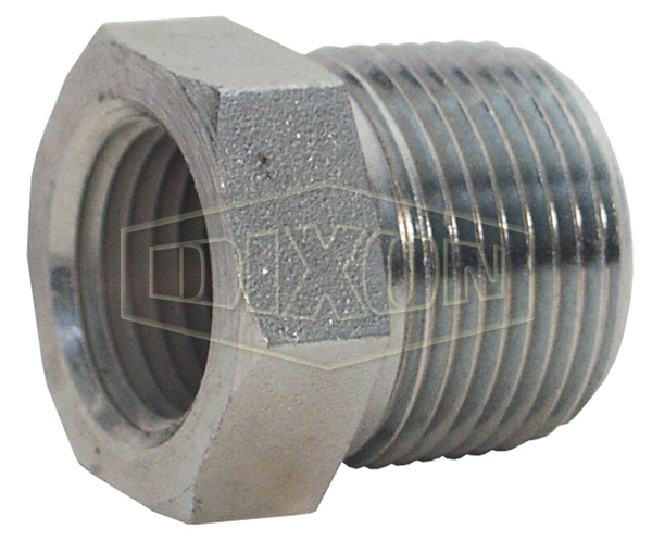 Male NPTF x Female NPTF Hex Reducer Bushing