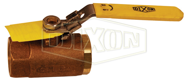 Locking Handle Bronze Ball Valve