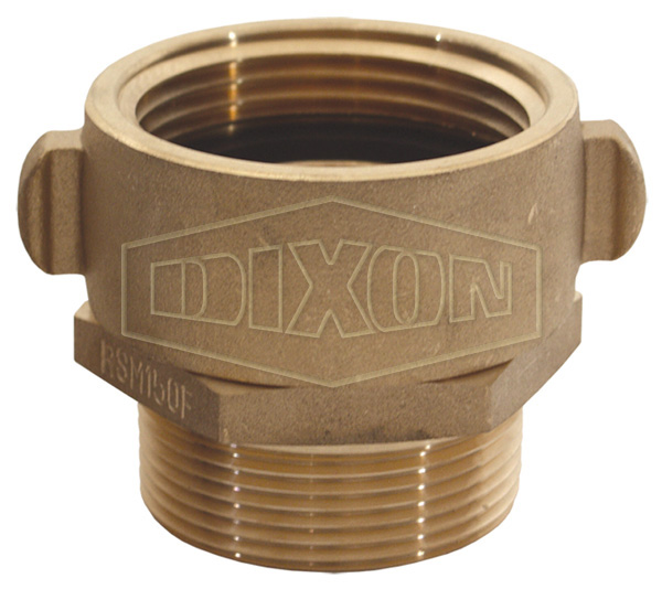 Brass Female Swivel x Male Adapter - Rocker Lug