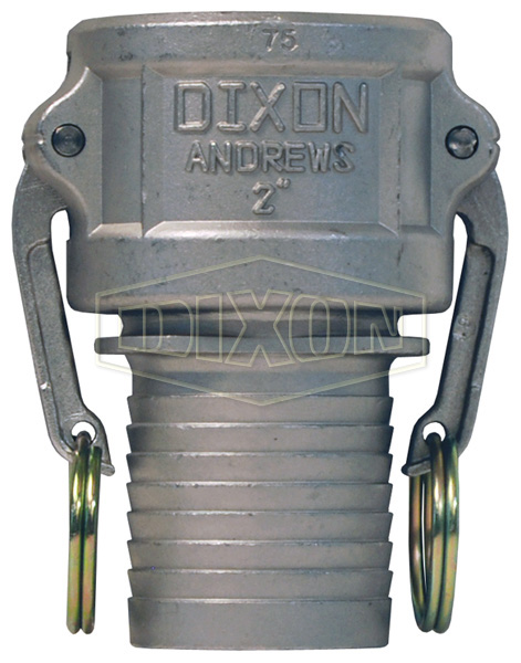 Dixon® Cam & Groove Notched NOS Type C Coupler x NOS shank
