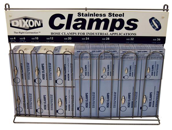 Dixon® Worm Gear Clamp Rack