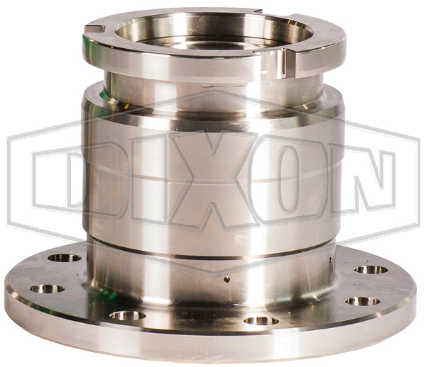 Dixon® Cryogenic Dry Disconnect Adapter-Tank Unit x 150# Flange