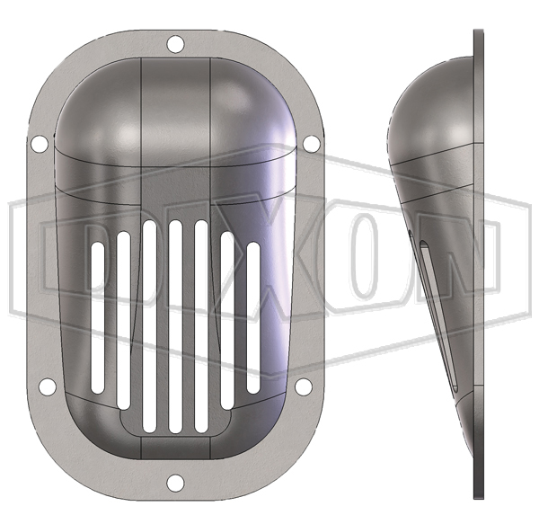Inlet scoop strainers style A