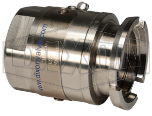 Dixon® Dry Disconnect Steam Adapter x Female NPT