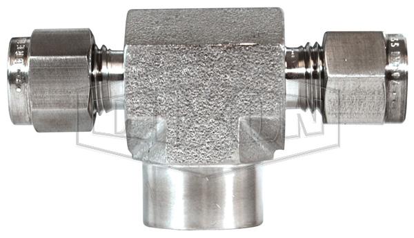 Instrumentation Female Branch Tee 316 stainless steel
