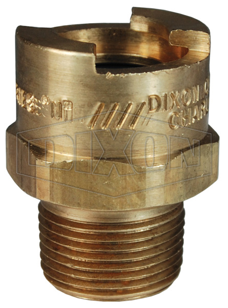 N series bowes interchange coupler male thread
